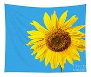 Sunflower Blue Sky Tapestry