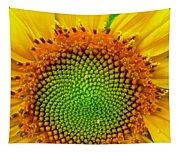 Sunflower Center Tapestry