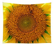 Sunflower Close-up Tapestry