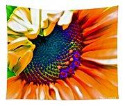 Sunflower Crazed Tapestry