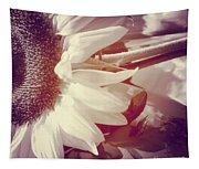 Sunflower Digital Art Tapestry