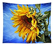 Sunflower Fantasy Tapestry