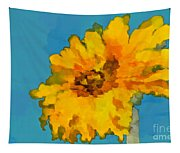 Sunflower Illusion Tapestry