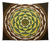 Sunflower Mandala Tapestry