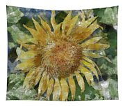 Sunflower Painting Tapestry