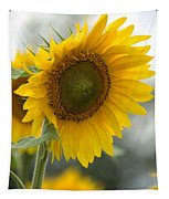 Sunflower Portrait Tapestry