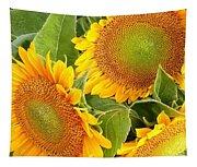 Sunflower Smiles Tapestry
