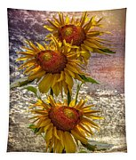 Sunflower Trio Tapestry