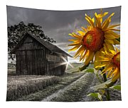Sunflower Watch Tapestry