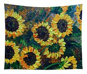 Sunflowers 2 Tapestry