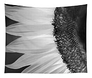 Sunflowers Beauty Black And White Tapestry