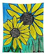 Sunflowers For Fun Tapestry