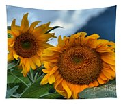 Sunflowers In The Wind Tapestry
