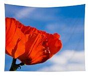 Sunlit Poppy Tapestry