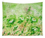 Sunny Daisies Tapestry