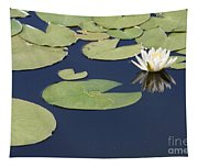 Sunny Lily Pond Tapestry