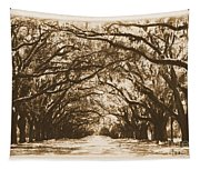 Sunny Southern Day With Old World Framing Tapestry