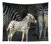 Sunny Zebra Tapestry