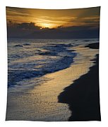 Sunrays Over The Sea Tapestry