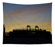 Sunrise At Citizens Bank Park Tapestry