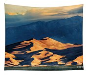 Sunrise At Great Sand Dunes Tapestry