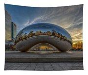 Sunrise Cloud Gate Tapestry