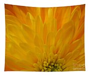 Sunrise Dahlia Abstract Tapestry