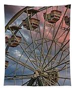 Sunrise Ferris Wheel Tapestry