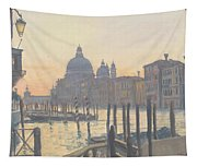 Sunrise Grand Canal Tapestry