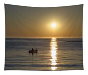 Sunrise In Stone Harbor New Jersey Tapestry
