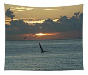 Sunrise In The Florida Riviera Tapestry