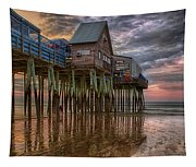 Sunrise Old Orchard Beach Tapestry