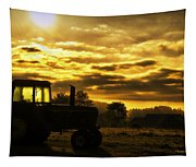 Sunrise On The Deere Tapestry