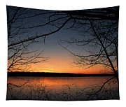 Sunrise On The Lake Tapestry