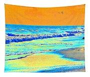 Sunrise On Tybee Island - Photopower 170 Tapestry