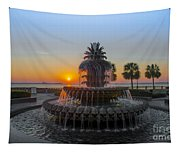 Sunrise Over Charleston Tapestry