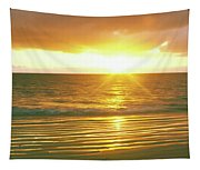 Sunrise Over The Pacific Ocean, Cabo Tapestry