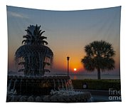 Lowcountry Pineapple Tapestry
