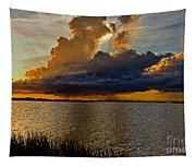Sunrise Rain Tapestry
