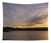 Sunrise Temple Bar Lake Mead Tapestry