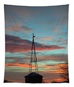 Sunrise Windmill Tapestry