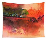 Sunset 51 Tapestry