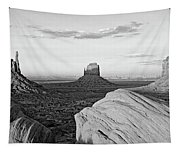 Sunset At Monument Valley, Monument Tapestry