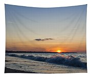 Sunset At Riva Tapestry