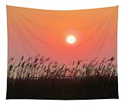 Sunset At The Beach Tapestry