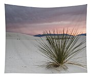 Sunset At White Sands Tapestry
