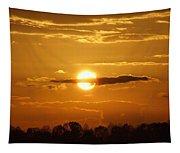 Sunset Bear Tapestry