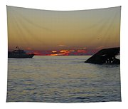 Sunset Cruise At Cape May Tapestry