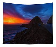 Sunset Crusin' On Pch Tapestry