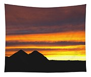 Sunset Death Valley Rectangular Img 0283 Tapestry